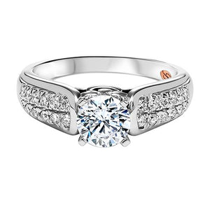DIAMOND SOLITAIRE ENGAGEMENT RING RG58499