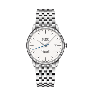 STEEL BARONCELLI HERITAGE WHITE FACE - XSJewelers