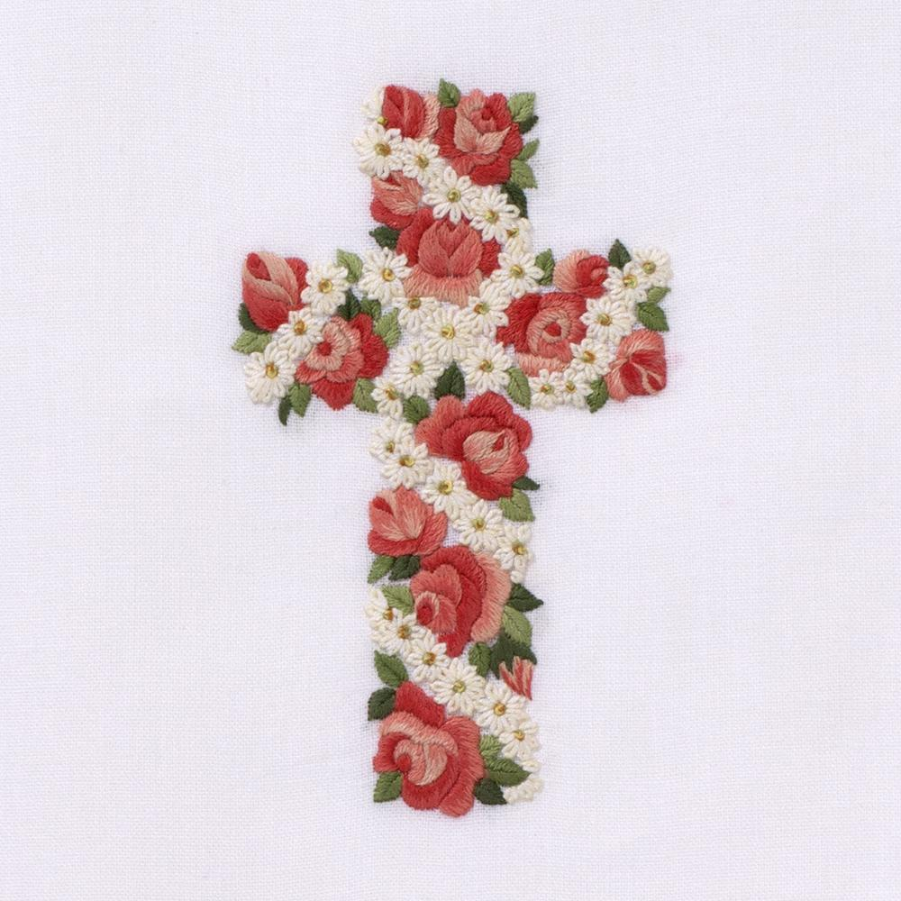 Rose & Daisy Cross