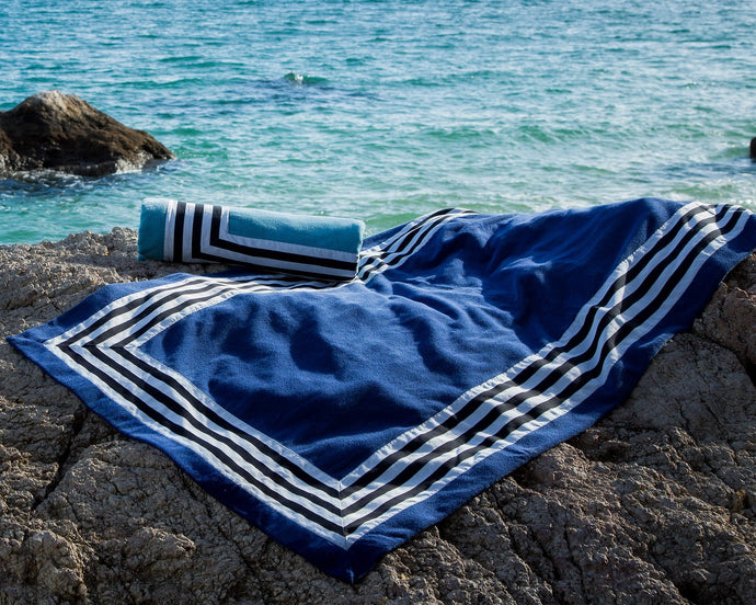 Cannes Beach Towel