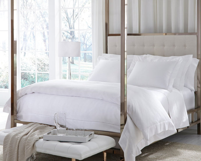 Giza 45 Percale White Overstock by Sferra