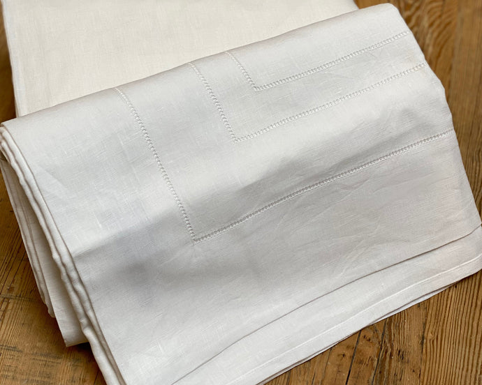 Triple Hemstitch Linen