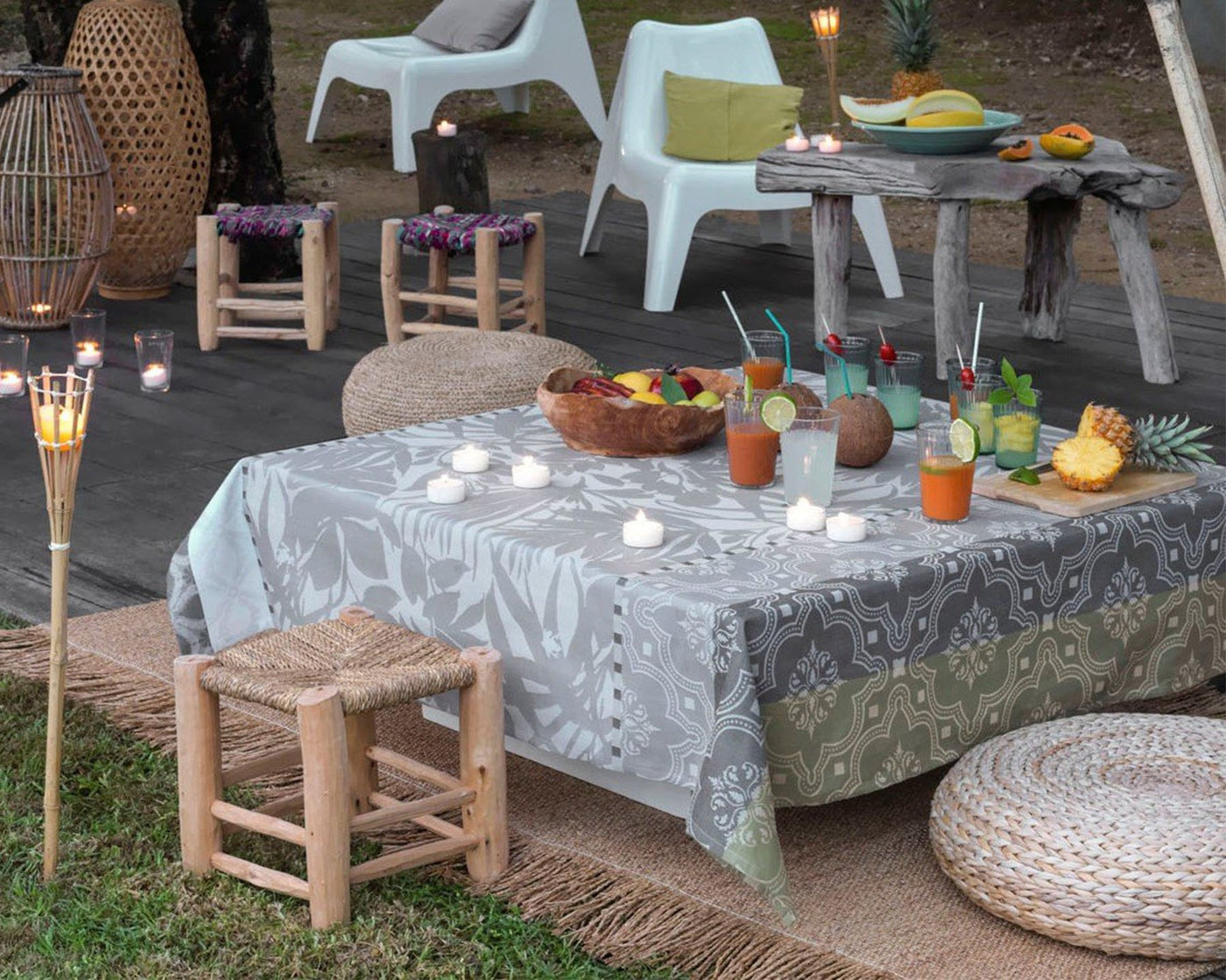Bahia | Coated Tablecloth