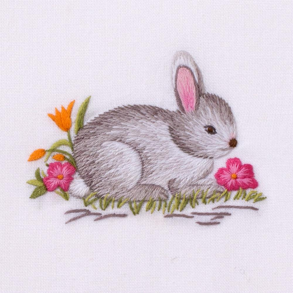 Bunny Gray | Dinner Napkin