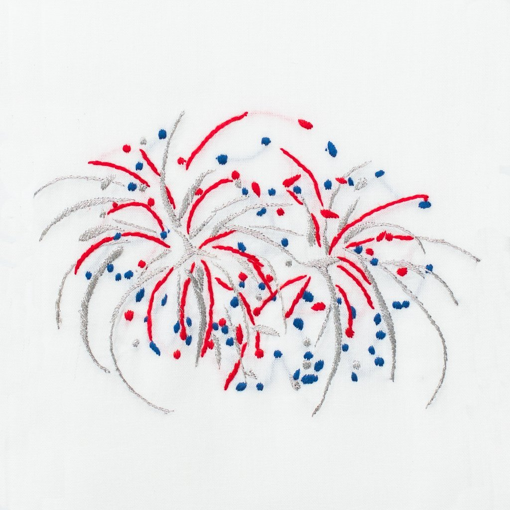 Happy 4th Fireworks | Kitchen Towel