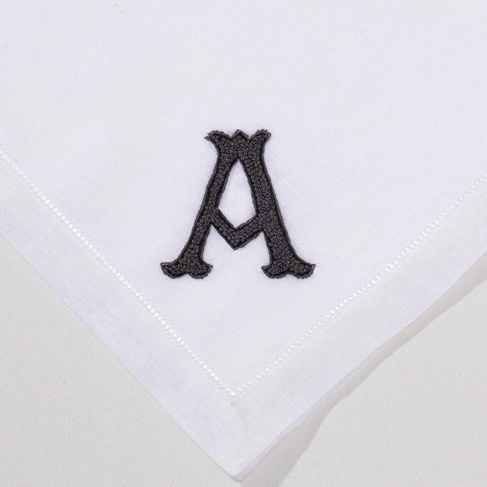 Nouveau Monogram Gray - Dinner Napkin