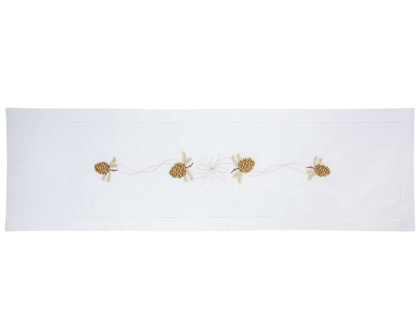 Pinecone Gilded | Table Runner