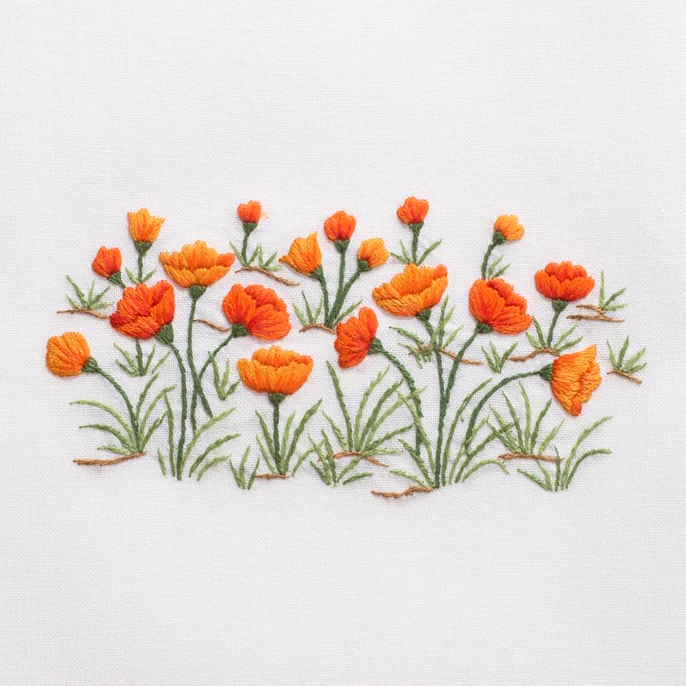 Poppies | Tissue Box Cover