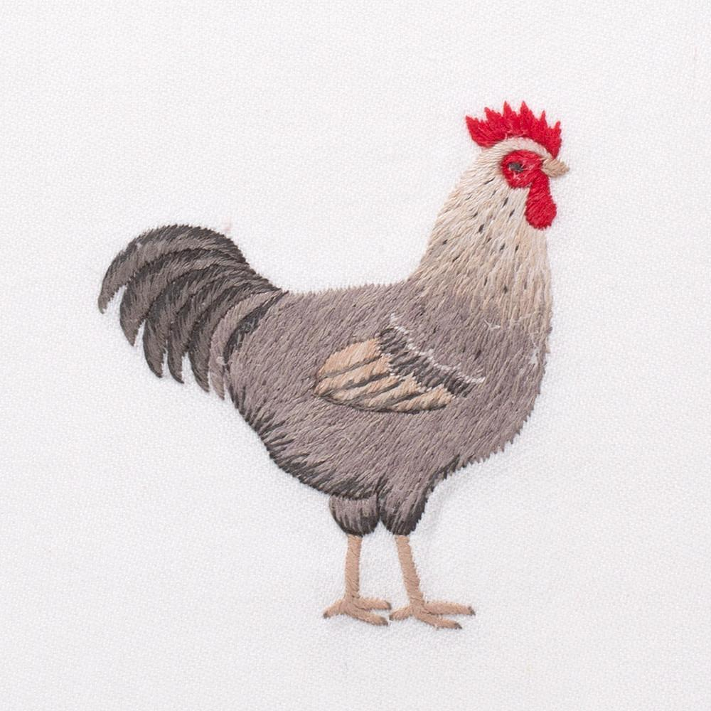 Rooster Gray | Kitchen Towel