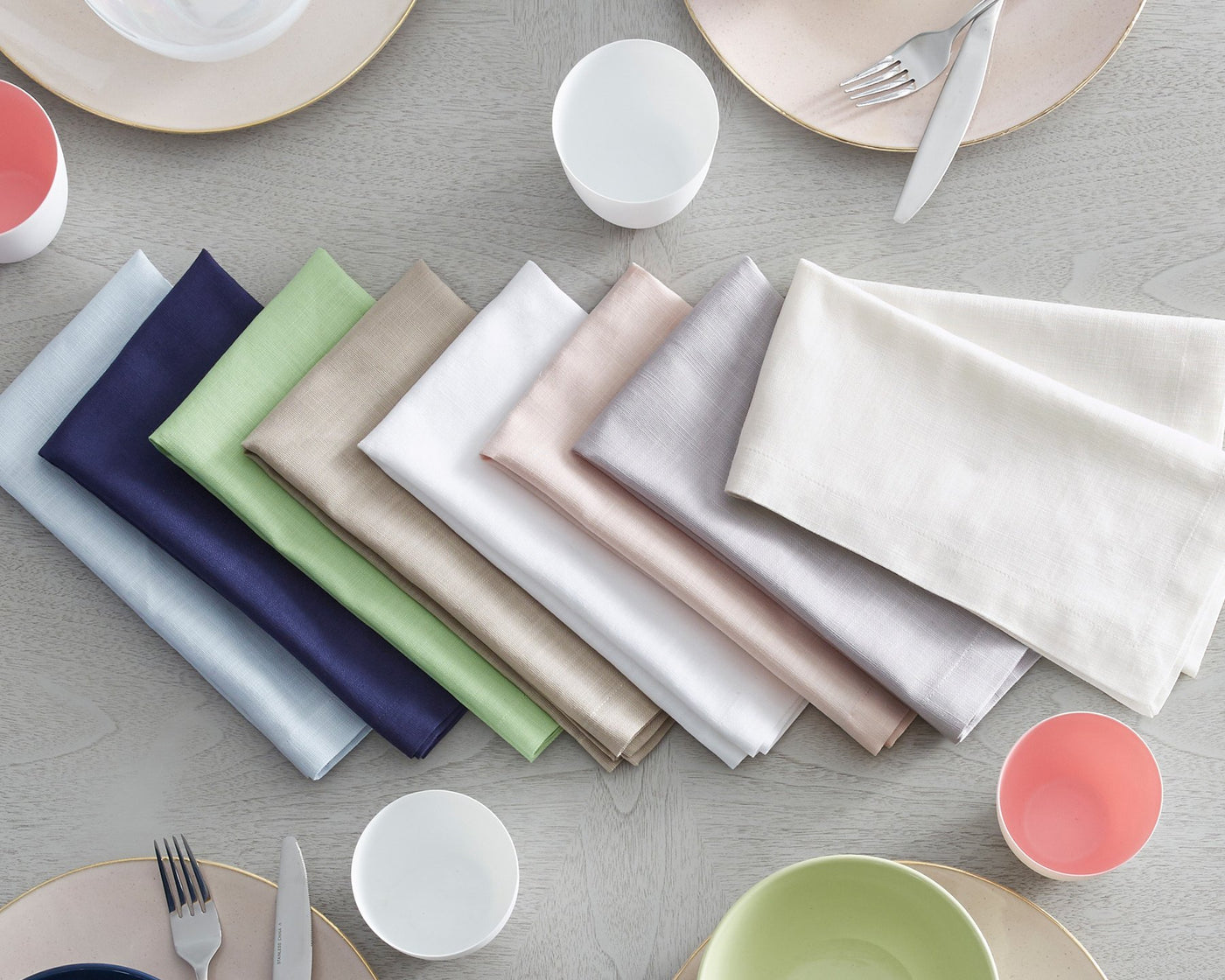 Cartlin Table Linens | Dinner Napkins, Set of 4