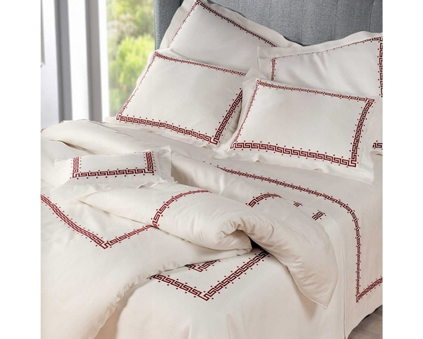 Etruria Embroidery | Fitted Sheet