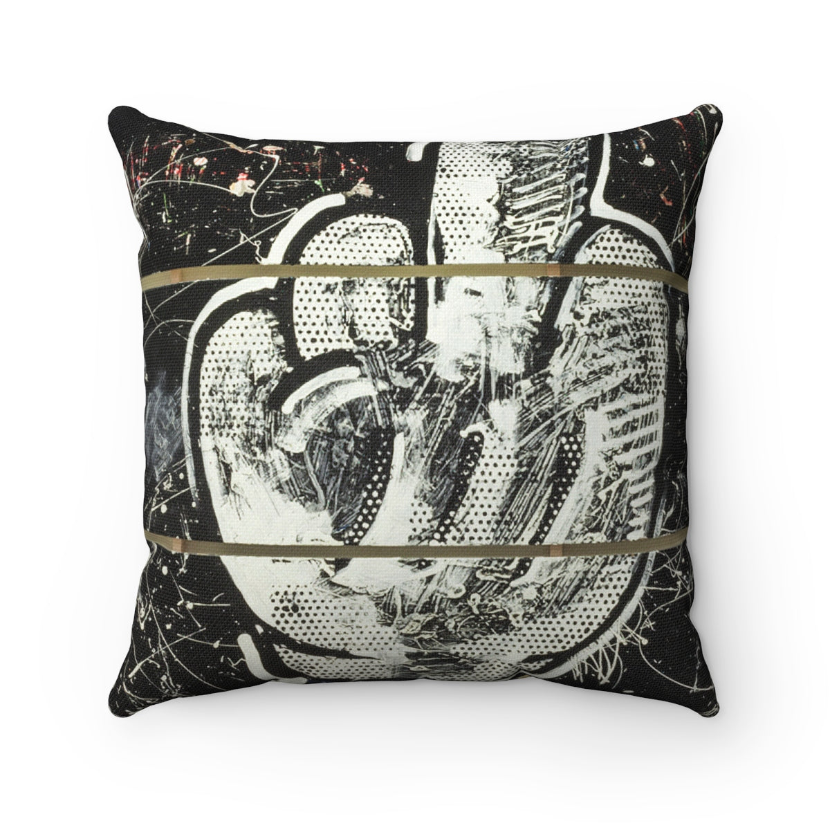 (American Dream = A Dream Deferred) Spun Polyester Square Pillow