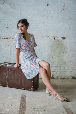 Wrap dress summer 2020 | Olá Lindeza