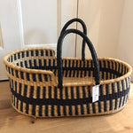 Route Woven Baby Moses Basket (custom mattress included)