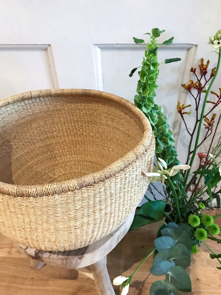 Natural storage or planter basket | Olá Lindeza