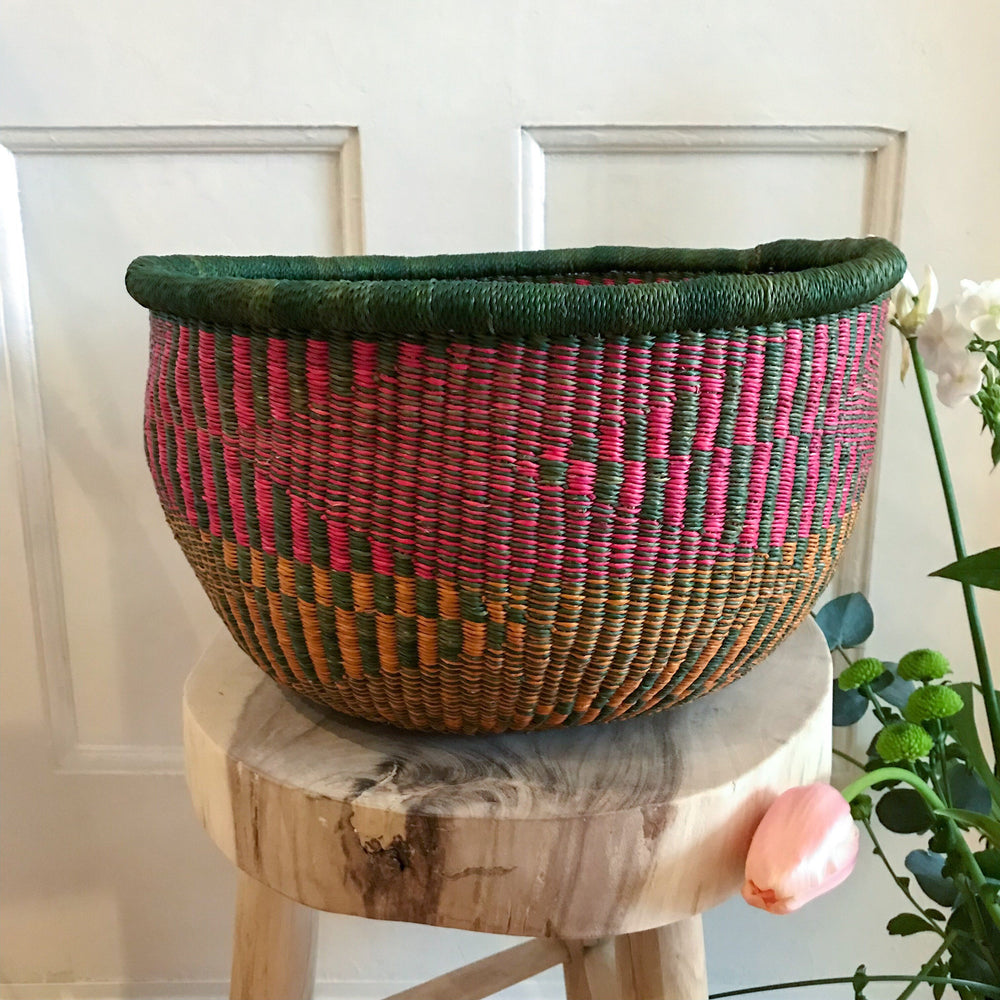 Colorful storage basket | Olá Lindeza