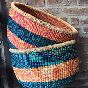 Natural storage baskets | Olá Lindeza