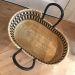 Circuit Woven Baby Moses Basket (custom mattress included)