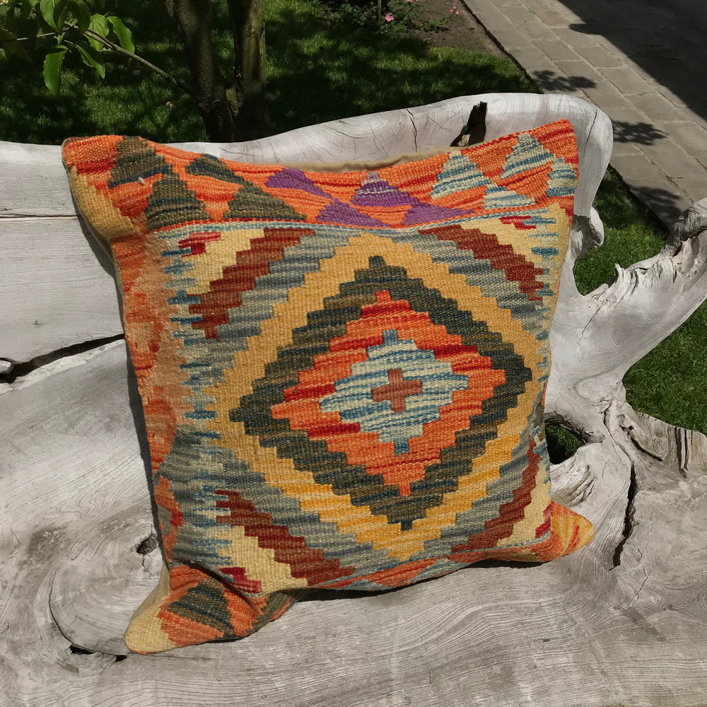 Tribal Kilim Cushion