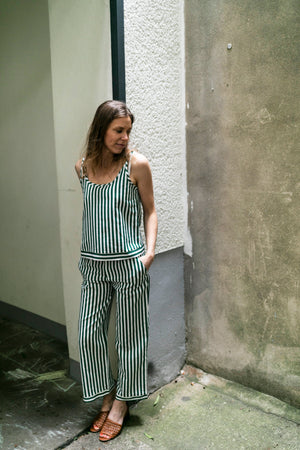 Linen trousers and top summer | Olá Lindeza