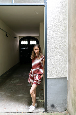 Linen short and t-shirt | Olá Lindeza