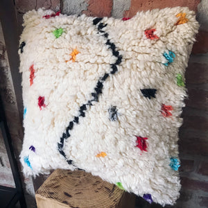Yedder Azilal berber pillow