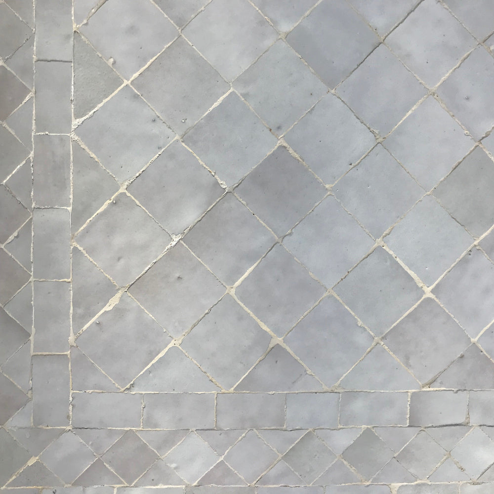Ivory mosaic tile table