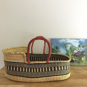 Trails Woven Baby Moses Basket