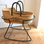 Nahua Woven Baby Moses Basket (custom mattress included)