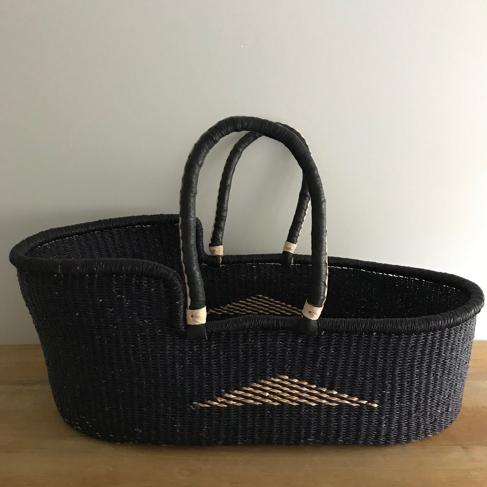 Nighty Night Woven Baby Moses Basket