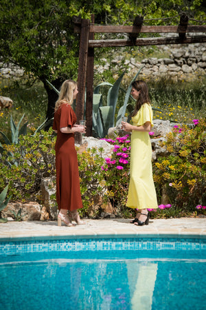 Maxi dresses bridesmaid summer | Olá Lindeza