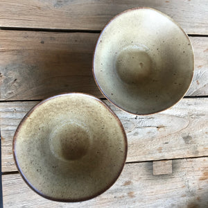 Sandy Speckled Ceramic Bowl