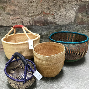 African market pot and storage Bolga baskets | Olá Lindeza