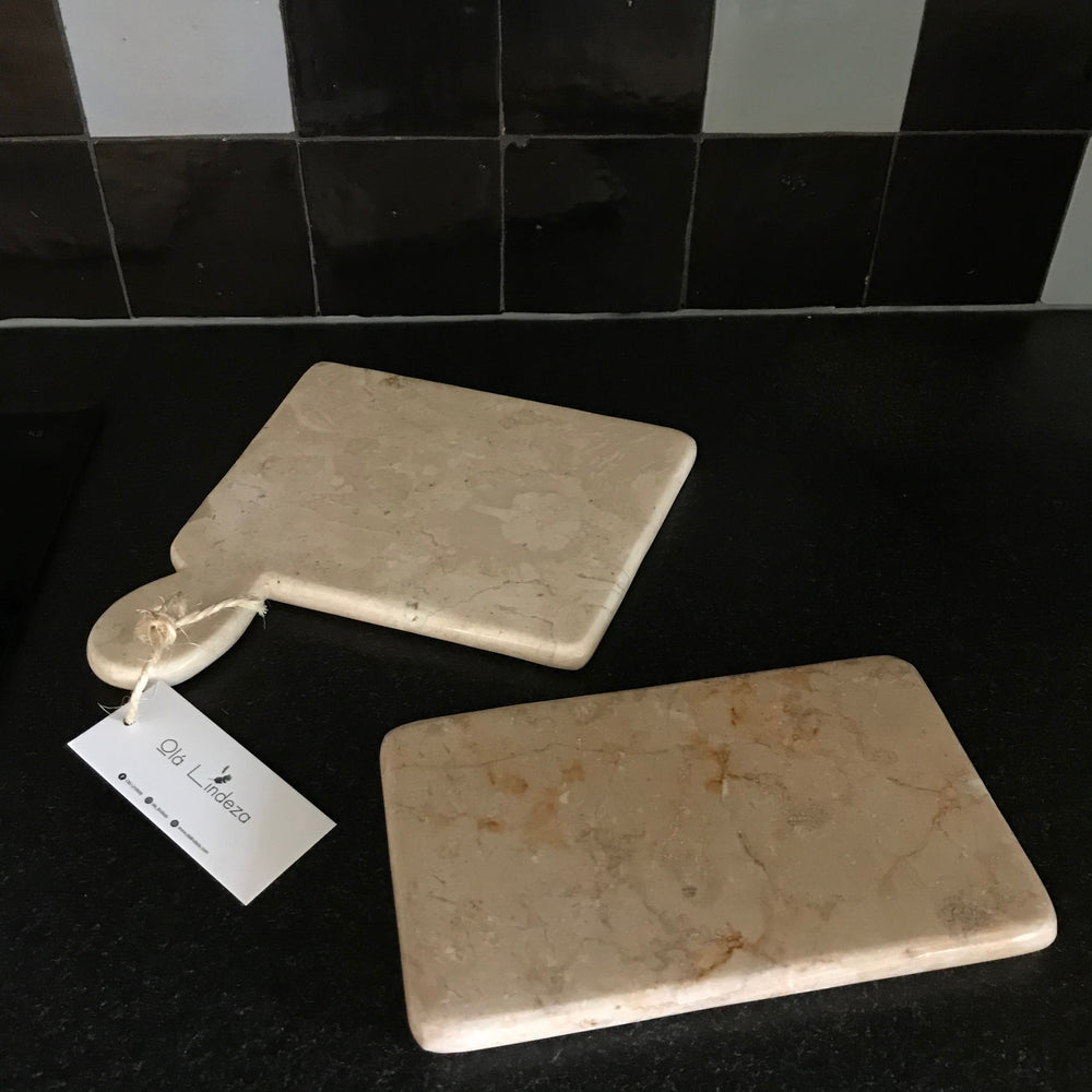 Rectangle marble serving or cutting board