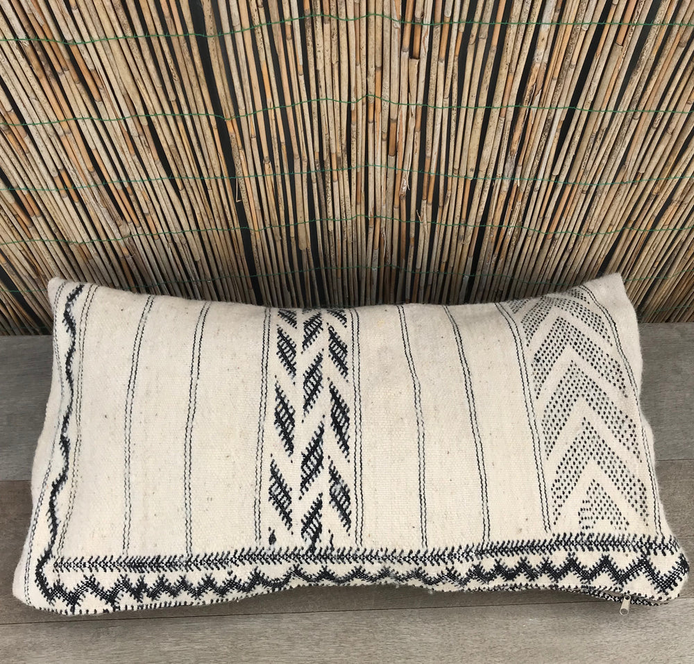 Aztec Wool Lounge Pillow