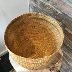 natural woven kukutoes planter basket | Olá Lindeza