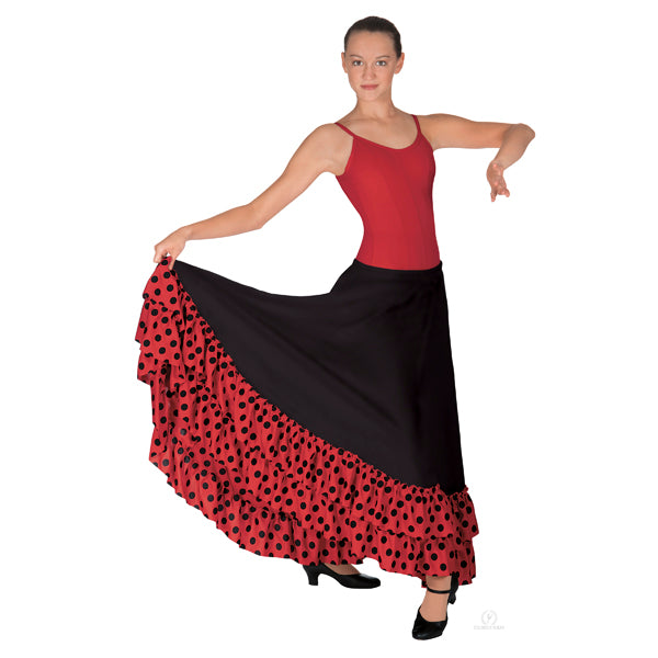 Eurotard Flamenco Skirt with Dotted Ruffle