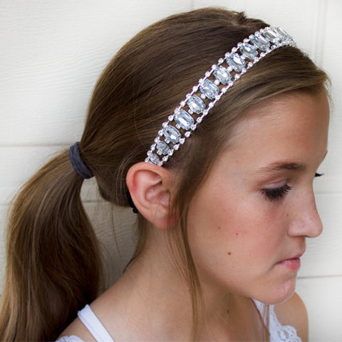 Dasha Designs Stone and Elastic Headband
