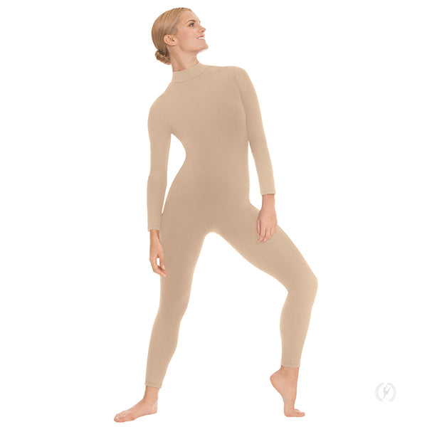 Eurotard Unisex Mock Neck Long Sleeve Unitard