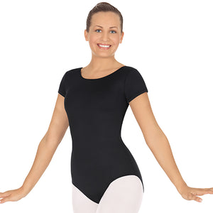 Eurotard Womens Plus Size Short Sleeve Leotard