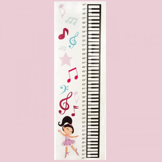 Dasha Growing Dancer Wall Height Chart