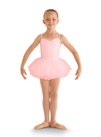 Bloch Heart Mesh Front Children's Tutu Dress