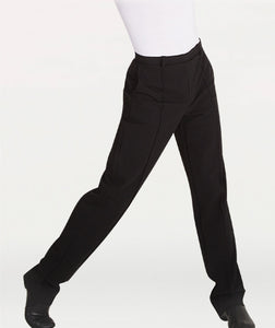 Body Wrappers Straight Leg Dance Slacks
