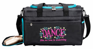 "Sassi Designs Dance Like No One is Watching 16"" Duffel"