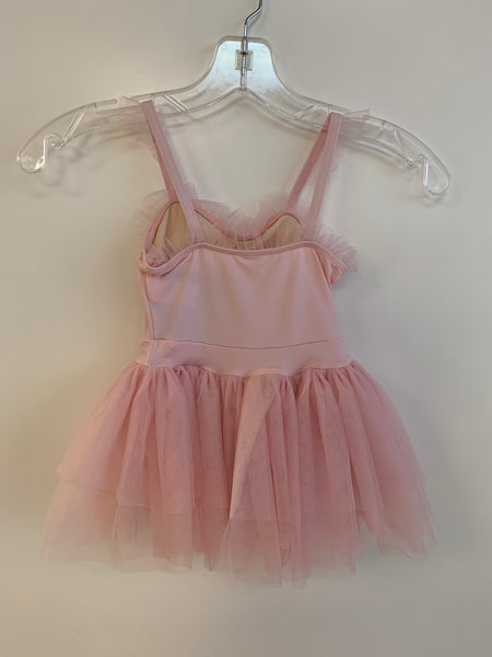 Motionwear Pinch Front Flutter Tutu Dress