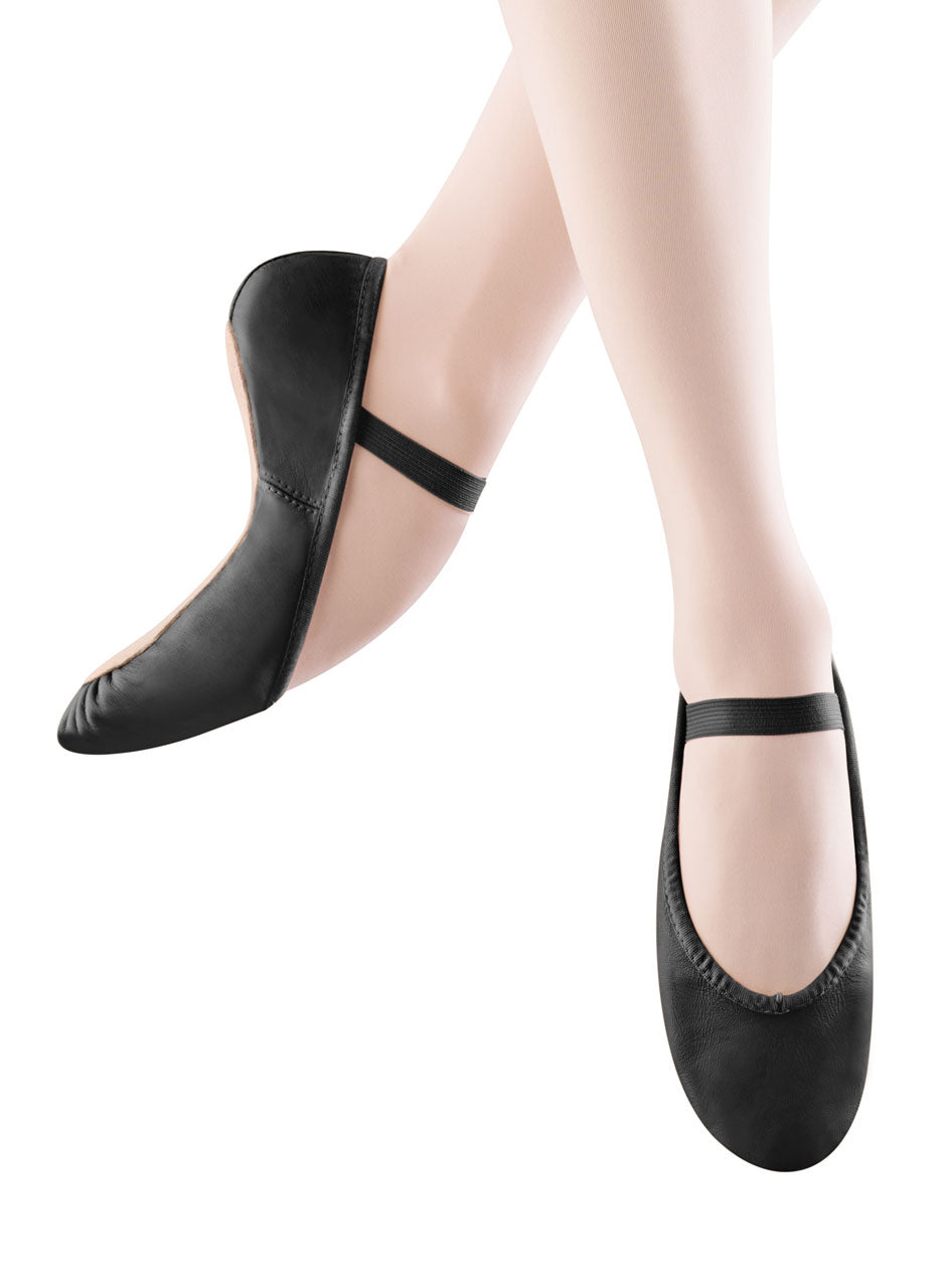 "Bloch ""Dansoft"" Adult Black Ballet Slipper"