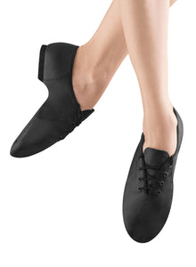 "Bloch ""Jazzsoft"" Lace-Up Leather Jazz Shoe"