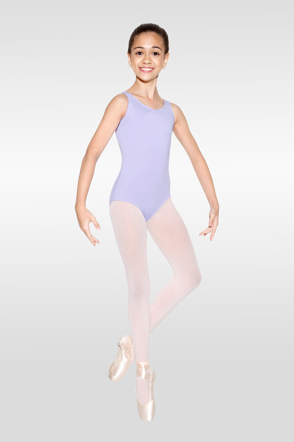 "So Danca ""Jenny"" Pinch-Front Children's Tank Leotard"
