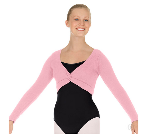 Eurotard Women's Soft Knit Twist Front Ballet Sweater