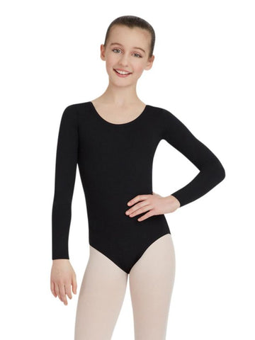 Capezio Nylon Long Sleeve Leotards